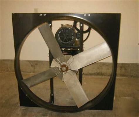 48 inch exhaust fan dayton 48 quot x 10 hp exhaust fan mod 6kg31
