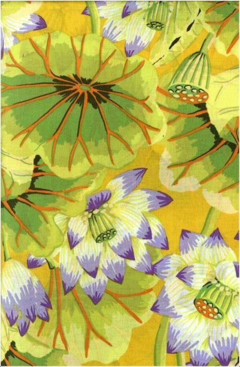kaffe fassett lake blossoms  beautiful fabric