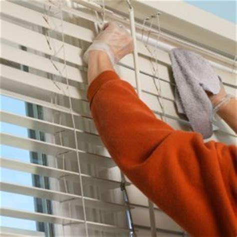 how to clean mini blinds cleaning mini blinds thriftyfun