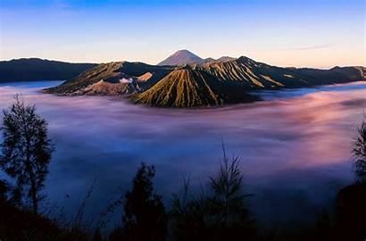 Indonesia Bromo Java Mount Tenger Volcano Island