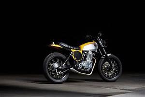 Racing Caf U00e8  Yamaha  U0026quot Daniel Peter U0026 39 S Tt500 U0026quot  By Motolanna
