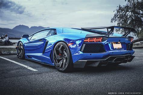 lamborghini aventador blue blue chrome lamborghini aventador www pixshark com