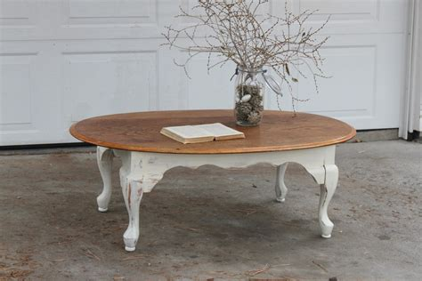 shabby chic coffee table putting the tea in teacher new home