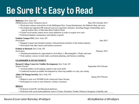 Easy Read Resume Format by What You Need To About Resumes Linkedin And