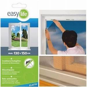 Fliegengitter Für Fenster Mit Wetterschenkel : elastic insektenschutz fliegengitter fenster 130 x 150 cm weiss reppilc ~ Yasmunasinghe.com Haus und Dekorationen