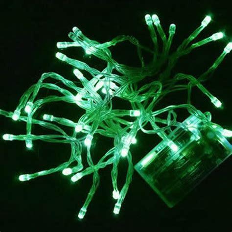 guirlande lumineuse 224 piles 40 leds vertes deco lumineuse