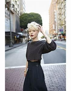 Coiffure Blonde Courte : coupe courte blond platine hiver 2015 les plus belles coupes courtes de 2018 elle ~ Melissatoandfro.com Idées de Décoration