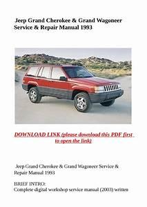 Jeep Grand Cherokee  U0026 Grand Wagoneer Service  U0026 Repair