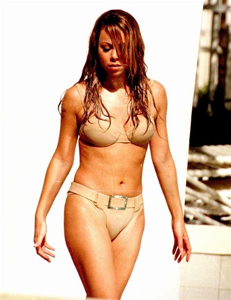 hande erçel swimsuit 1997 mariah carey s bikini body through the years us