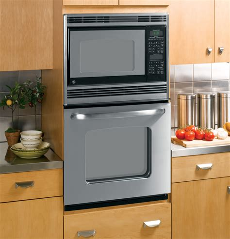 ge  built  double microwavethermal wall oven jkpspss ge appliances