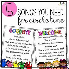 5 Songs You Need For Preschool Circle Time — Lovely Commotion