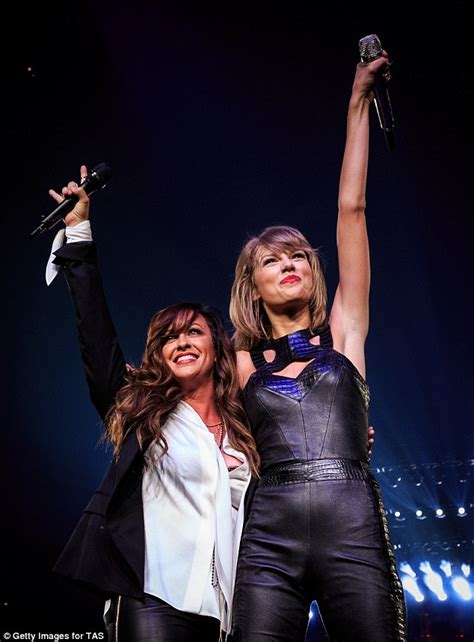 Taylor Swift wears leather bodysuit on her 1989 world tour ...