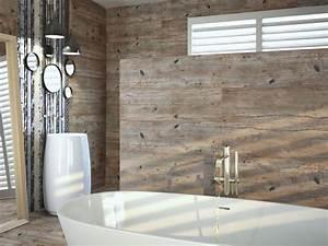 Carreaux Adhesif Salle De Bain : carreaux imitation planche de bois brut salle de bain d16 vente de carrelage imitation ciment ~ Melissatoandfro.com Idées de Décoration