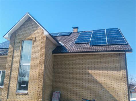 Продажа и установка солнечных батарей в харькове