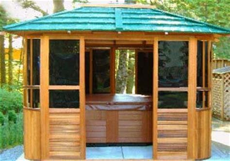 See more ideas about tub enclosures, hot tub, backyard. New York Hot Tub Enclosure Gazebo - 10' x 12'