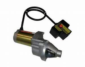 120v Electric Start Assembly For 420cc Snowblower Engines
