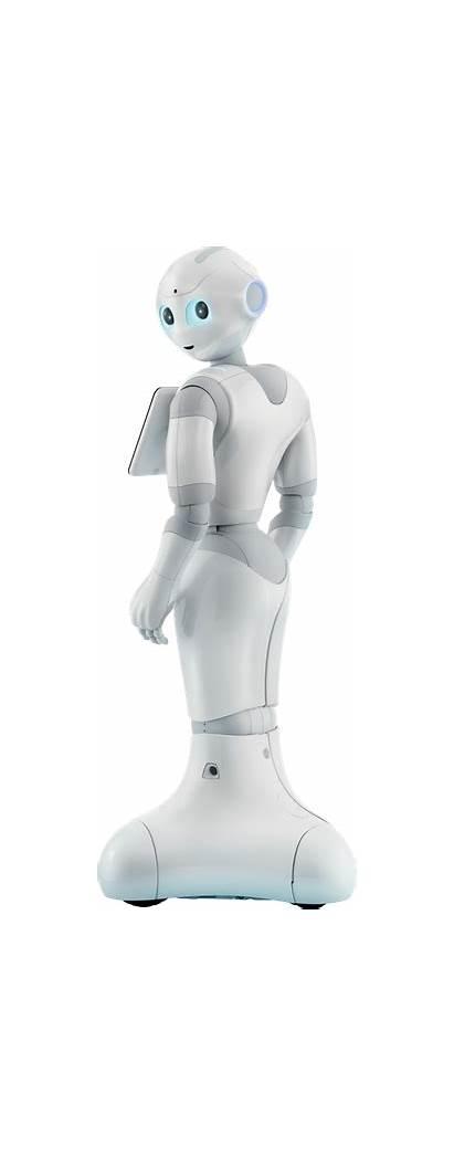 Pepper Robot Aldebaran Shaped Human Humanoid Emotions