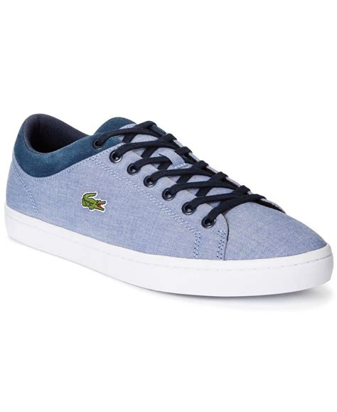 Lacoste Casual Navy lacoste s navy canvas casual lace up sneakers s