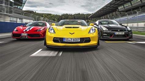 Mat's lining up in the ferrari 812 superfast, which delivers 800hp and. Speed Week: Corvette Z06 vs Ferrari 458 Speciale vs Nismo GT-R   Top Gear