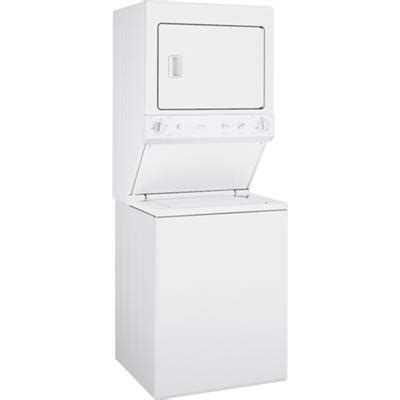 ge  cu ft unitized spacemaker washer  electric dryer modelwsmhww