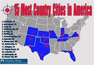 "50 Largest U.S. Cities Ranked From Most ""Country"" To Least ..."