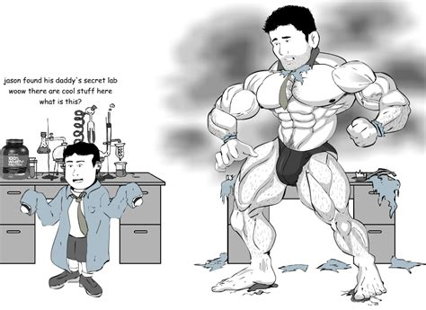 Jason Muscle Growth By Salvador503 On Deviantart