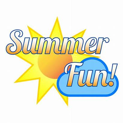 Summer Fun Clipart Icons Clip Transparent Background