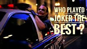 Best, Joker, Actors