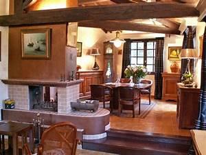 Décoration Intérieure Salon : d coration interieure salon rustique ~ Teatrodelosmanantiales.com Idées de Décoration