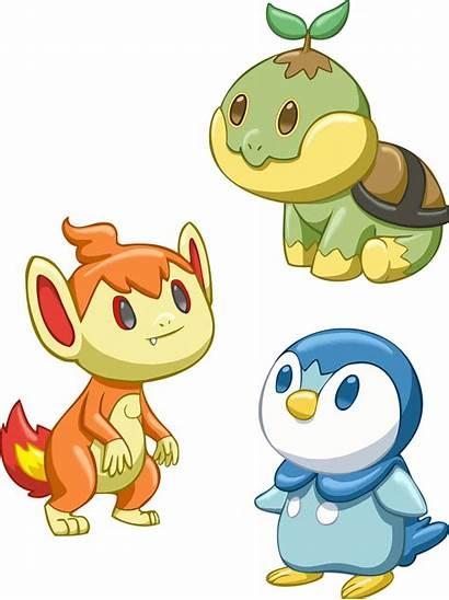 Pokemon Gen Starters Deviantart