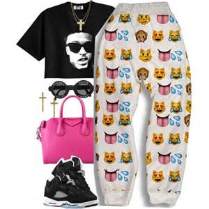 Dope Outfit for Girls Emoji