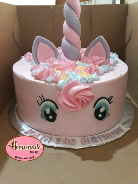 jual kue ulang  anak unicorn khusus cikarang