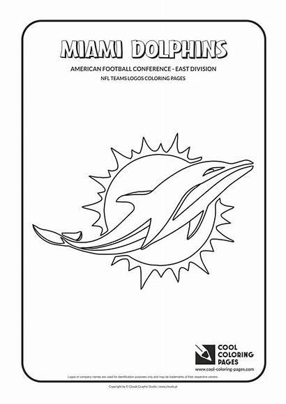 Nfl Coloring Pages Logos Teams Team Cool