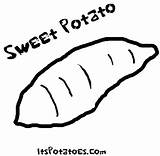 Potato Coloring Sweet Pages Yam Drawing Potatoes Vegetable Sheets Colouring Printable Vegetables Patterns Google Getdrawings Drawings Preschool Frog Advertisement Again sketch template