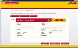 Dhl Online Frankierung Rechnung : dhl packetschein tracking support ~ Themetempest.com Abrechnung