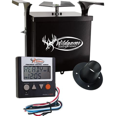 wildgame innovations feeder timer wildgame innovations 6v digital power unit th 6vd b h