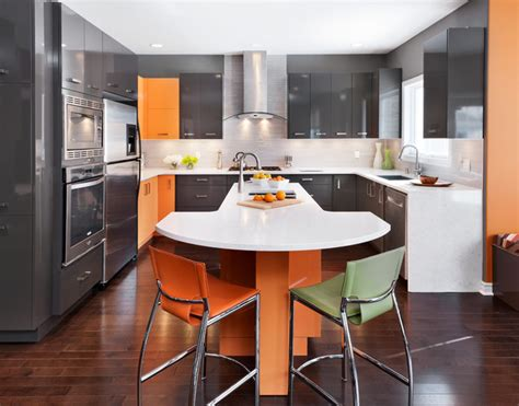 Kitchen Islands For Sale Ottawa by High Gloss Kitchen Contemporary Kitchen Ottawa By