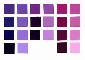 Violet-Red Violet-Magenta Analogous Scheme :: Emily Tobias