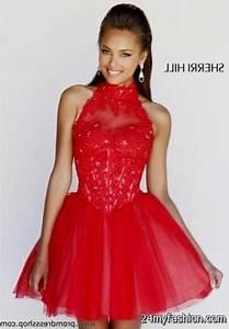 red and black short prom dresses 2016-2017   B2B Fashion