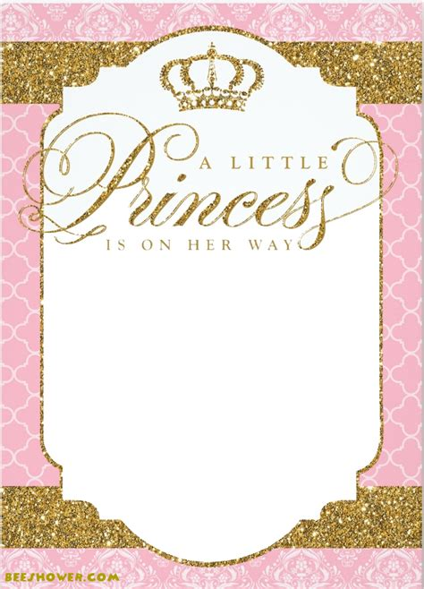 princess themed baby shower ideas  printable baby
