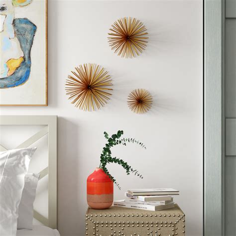 Choose an eggshell finish paint to give the. The Best 2 Piece Starburst Wall Decor Sets