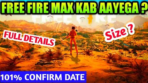 Players freely choose their starting point with their parachute, and aim to stay in the safe zone for as long as possible. Free Fire Max Kab Aayega | Free Fire Max Release Date In ...