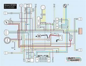 Harvey U0026 39 S Cb750fa  U2013 Rupe U0026 39 S Rewires