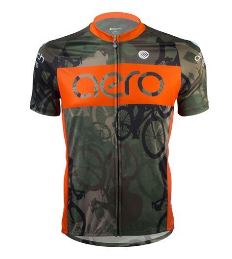 Woodlands Camo Cycling Jersey By Aero Tech Designs
