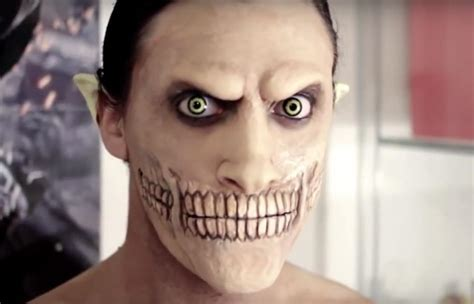 attack on titan diy eren jaeger makeup effects for halloween halloween ideas wonderhowto
