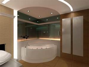 Bad Deckenbeleuchtung Led : 1001 ideen f r badbeleuchtung decke effektvolle und atemberaubende atmosph re ~ Markanthonyermac.com Haus und Dekorationen