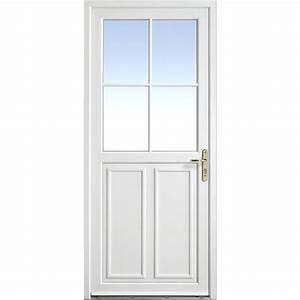 Porte D Entrée Pvc Lapeyre : porte d 39 entr e olonne pvc portes ~ Farleysfitness.com Idées de Décoration