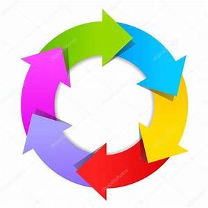 6 Part Arrow Wheel Diagram  U2014 Stock Vector  U00a9 Arcady  88425532