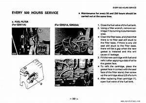 Komatsu Motor Grader Gd511  521  523a