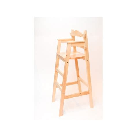 chaise pour table haute chaise junior chaises hautes en bois chaise haute en bois naturel